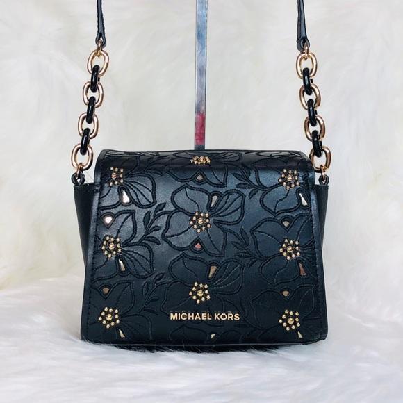 a863d065a8 Michael Kors Sofia Small Floral Crossbody Bag